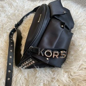 Michael Kors studded belt bag